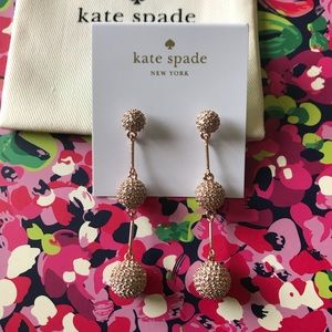 Kate spade pavé dash earrings